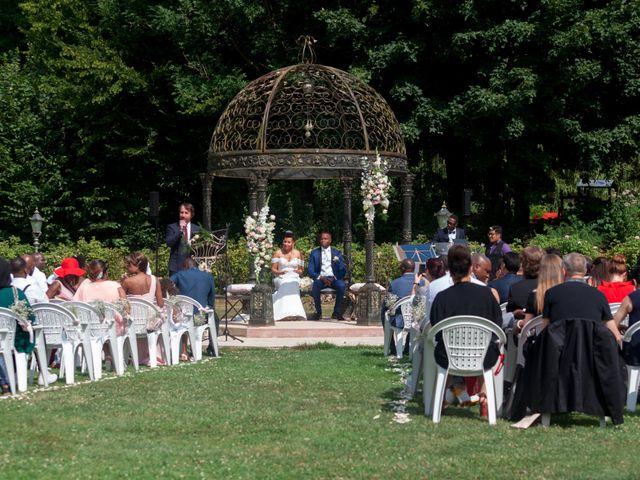 Le mariage de Jean et Aminata à Mauperthuis, Seine-et-Marne 16