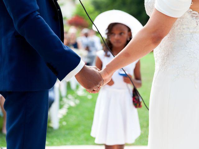 Le mariage de Jean et Aminata à Mauperthuis, Seine-et-Marne 18