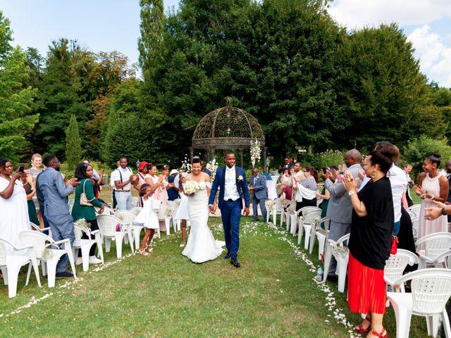 Le mariage de Jean et Aminata à Mauperthuis, Seine-et-Marne 20