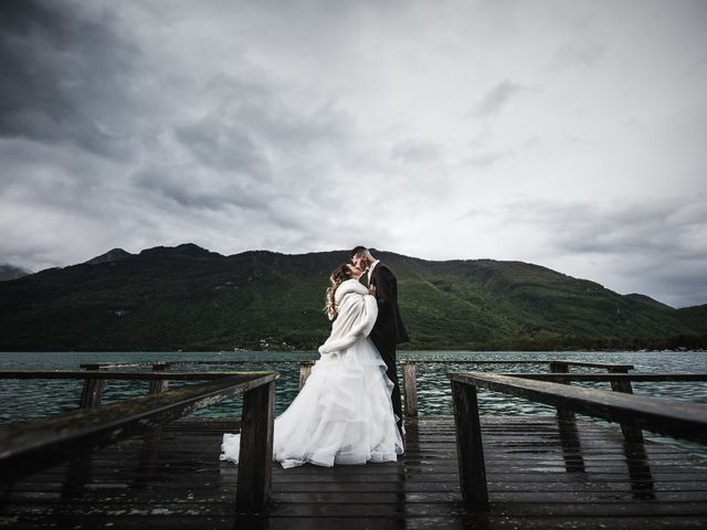Le mariage de Alan et Laure à Faverges, Haute-Savoie 23