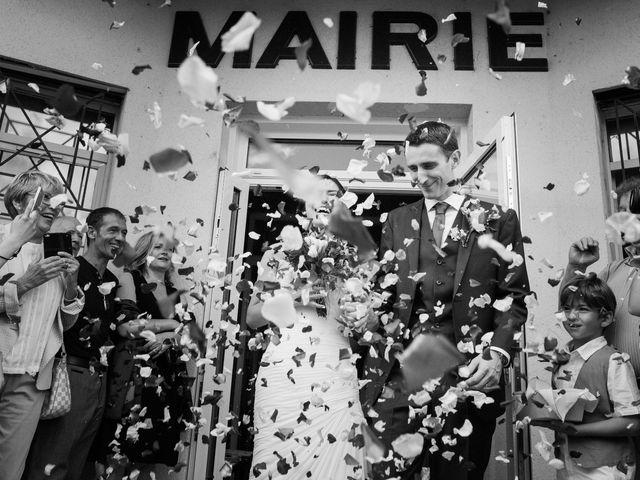Le mariage de Alexandre et Emi à Feugarolles, Lot-et-Garonne 9