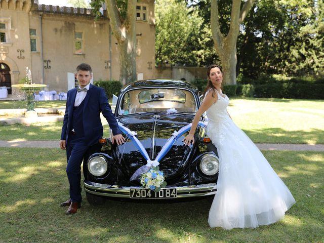 Le mariage de Alexandre et Audrey à Montfaucon, Gard 7