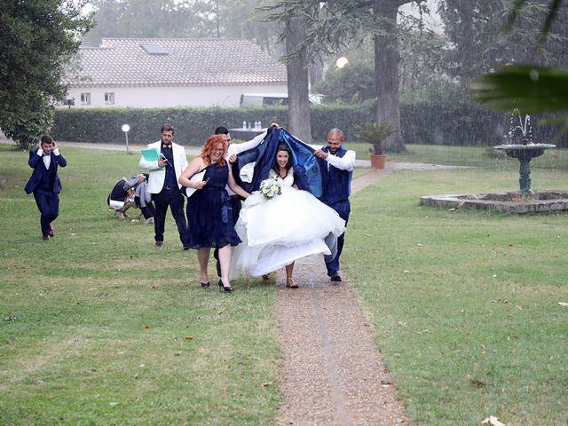 Le mariage de Alexandre et Audrey à Montfaucon, Gard 10