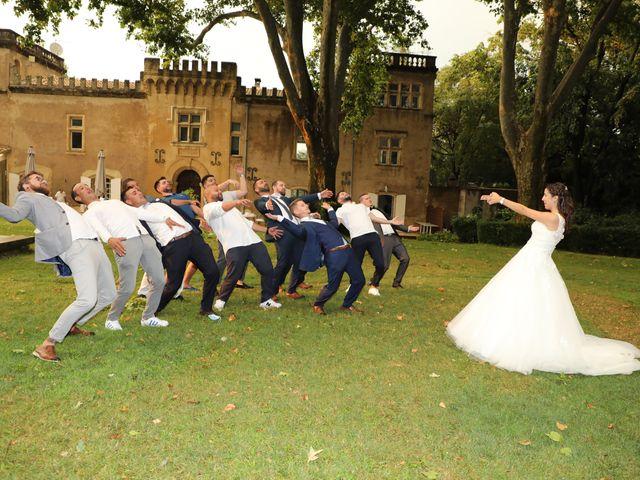 Le mariage de Alexandre et Audrey à Montfaucon, Gard 16