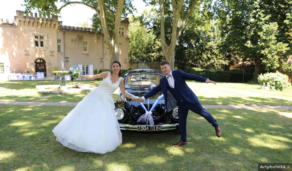 Le mariage de Alexandre et Audrey à Montfaucon, Gard