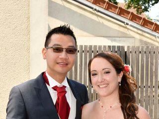 Le mariage de Stéphanie et Phaly