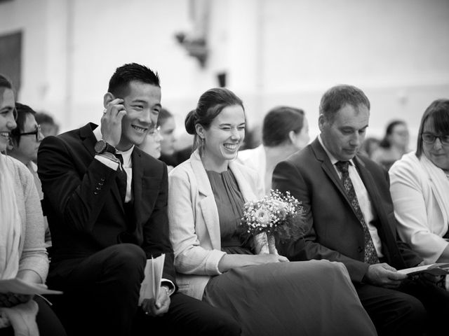 Le mariage de Fabien et Solène à Bourg-des-Comptes, Ille et Vilaine 23