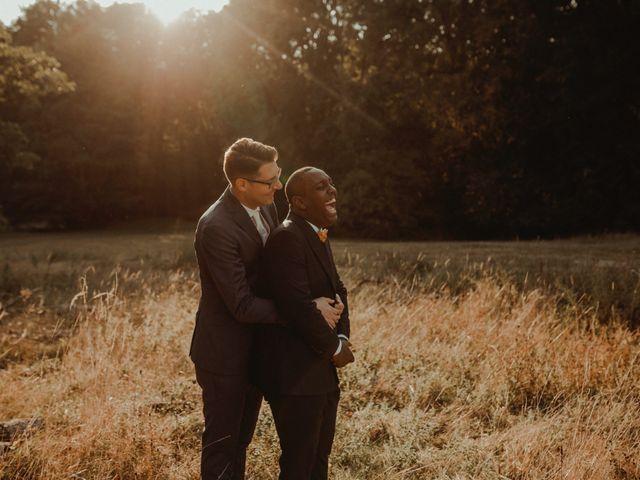Le mariage de Marvin et Thibault
