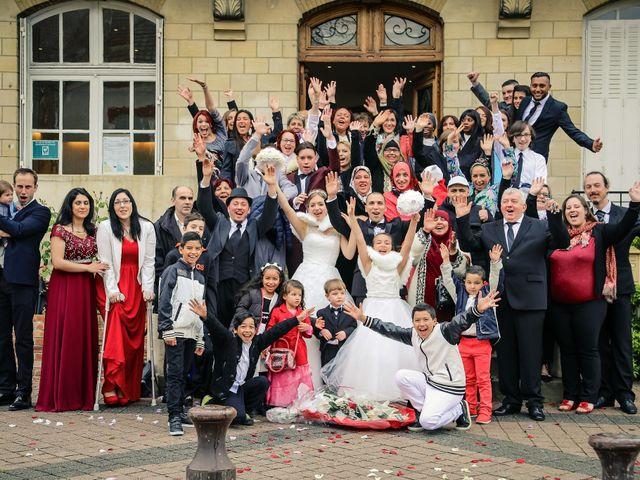 Le mariage de Abdelatif et Vanessa à Cergy, Val-d'Oise 34