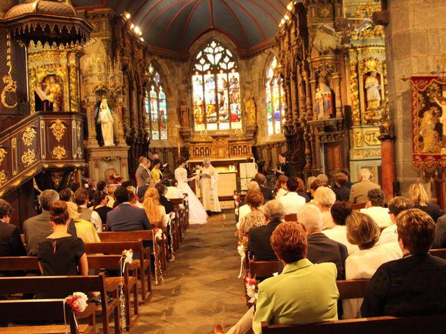Le mariage de Mathieu et Angélique à Le Faou, Finistère 19