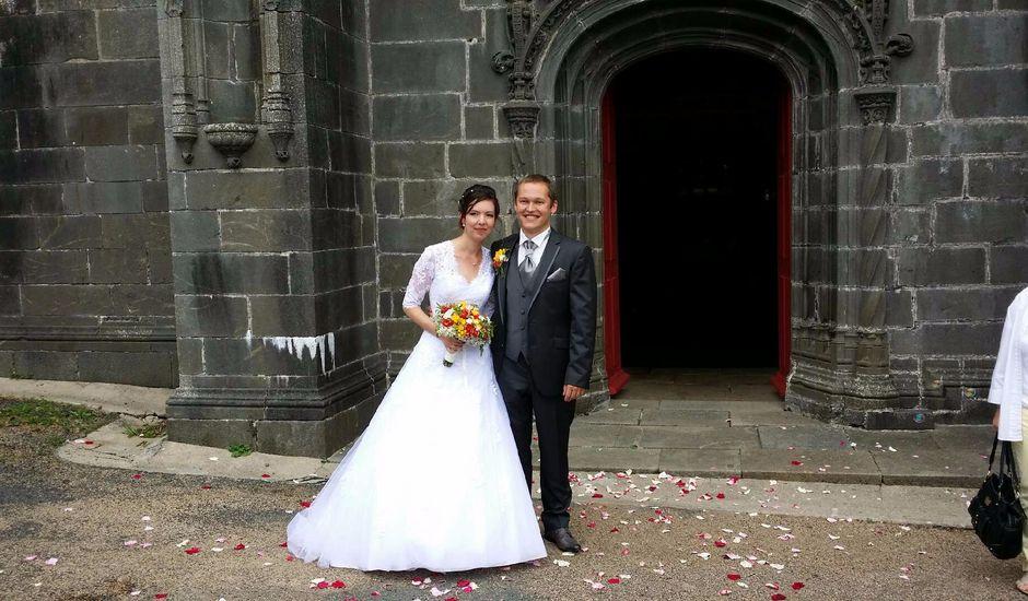 Le mariage de Mathieu et Angélique à Le Faou, Finistère