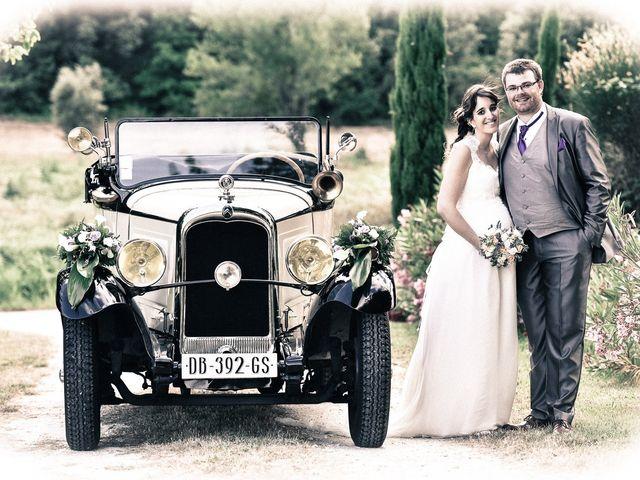 Le mariage de Alexis et Mélanie à Bouchet, Drôme 14