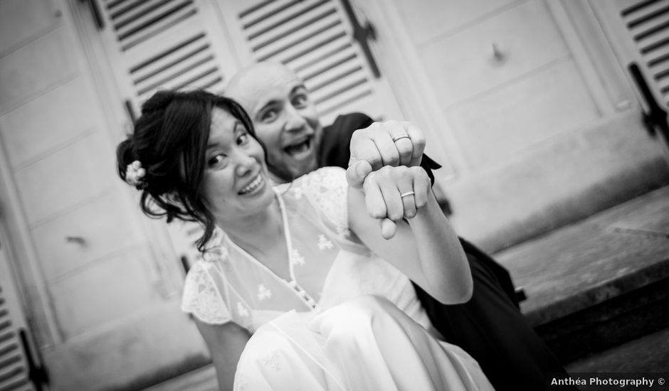 Le mariage de Olivier et Kimchi à Feurs, Loire
