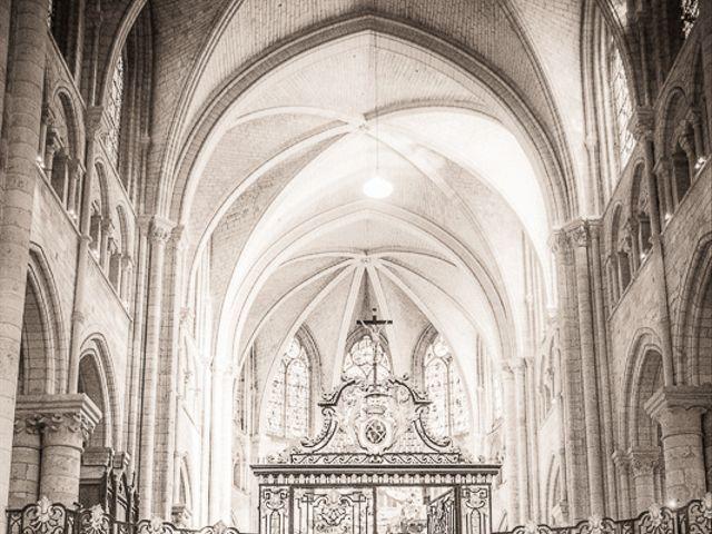 Le mariage de BERTRAND et ANNE LISE à Sens, Yonne 8