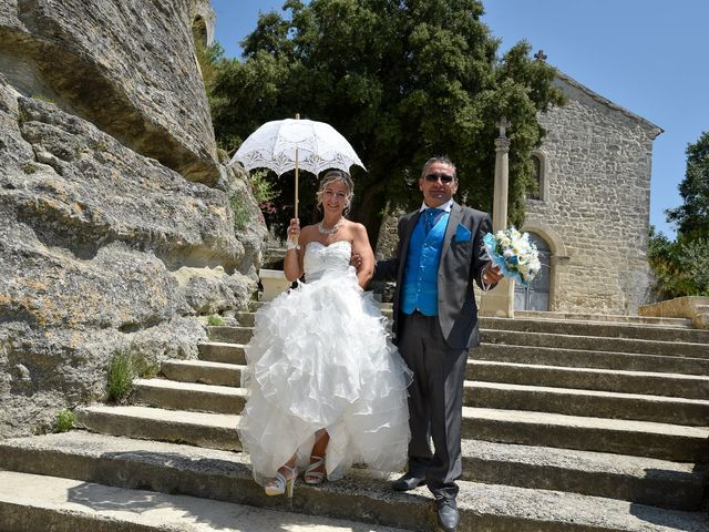Le mariage de bruno et Sandrine à Lamotte-du-Rhône, Vaucluse 5
