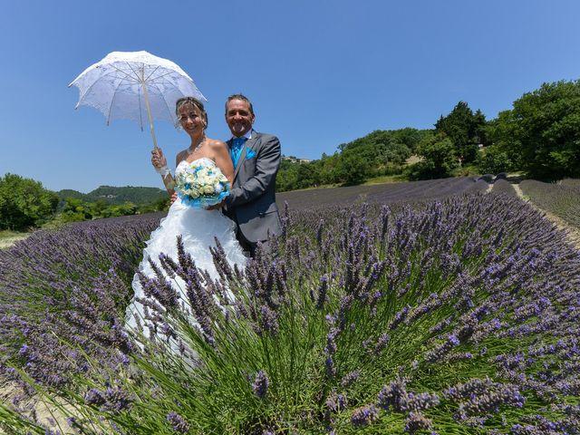 Le mariage de bruno et Sandrine à Lamotte-du-Rhône, Vaucluse 7