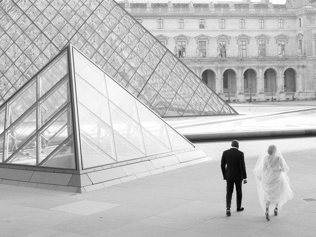 Le mariage de John et Lauren à Paris, Paris 61