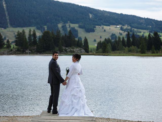 Le mariage de Arnaud et Audrey à Prémanon, Jura 24