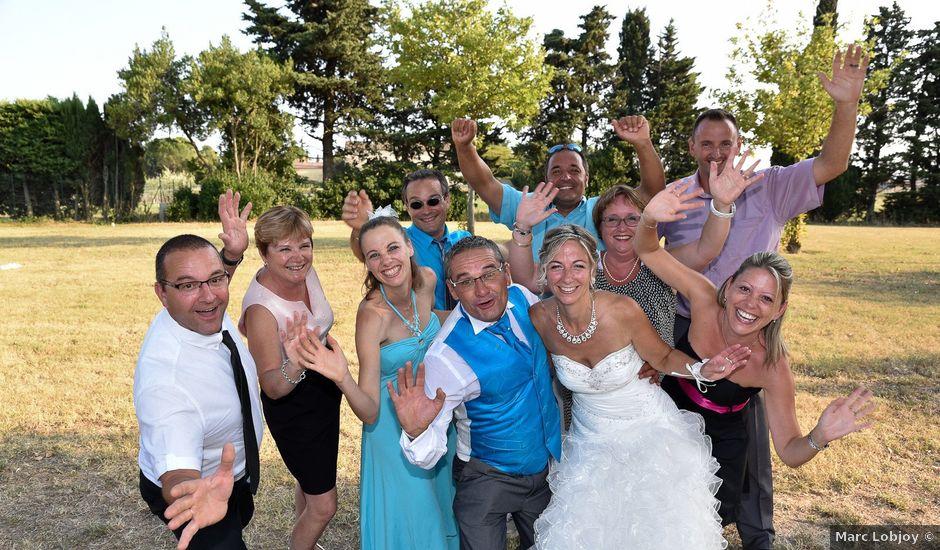 Le mariage de bruno et Sandrine à Lamotte-du-Rhône, Vaucluse