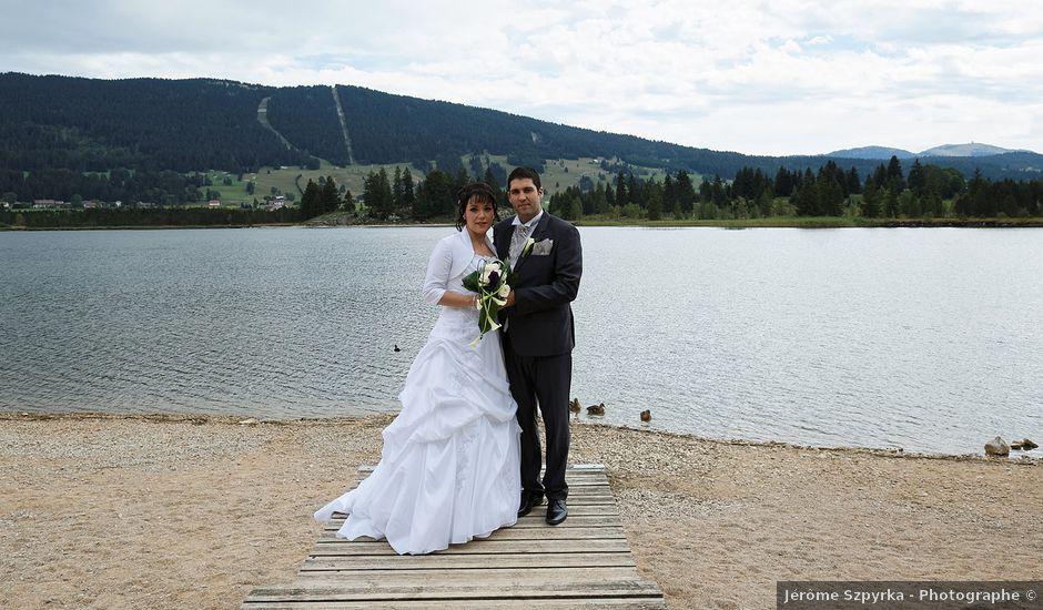 Le mariage de Arnaud et Audrey à Prémanon, Jura