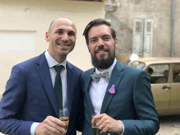 Le mariage de Damien et André