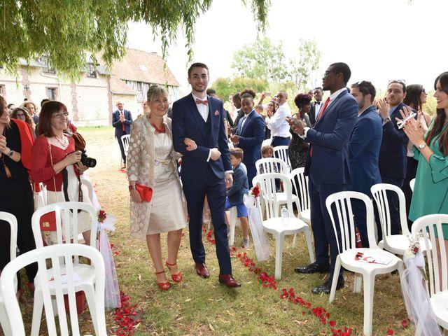 Le mariage de Thibault et Émilie à Porte-Joie, Eure 31