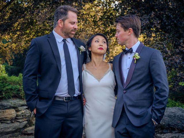 Le mariage de Kyle et Sheila à Saint-Just, Ille et Vilaine 33