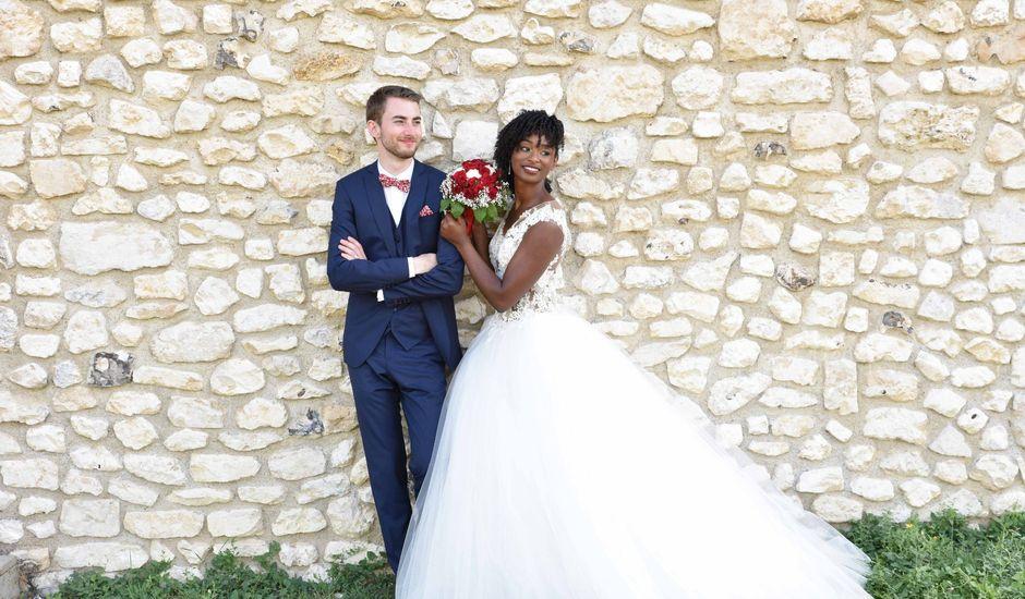 Le mariage de Thibault et Émilie à Porte-Joie, Eure