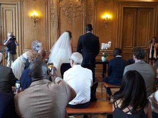 Le mariage de Justine et Sekou 1