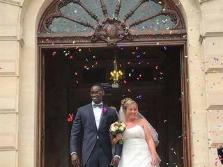 Le mariage de Justine et Sekou 2