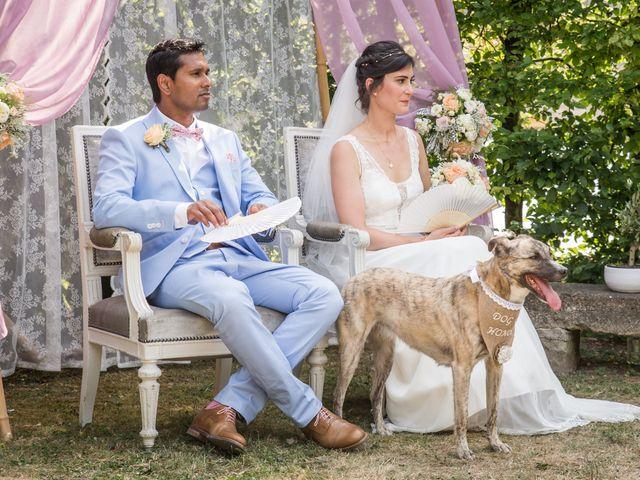 Le mariage de amar et clara à Vallery, Yonne 6