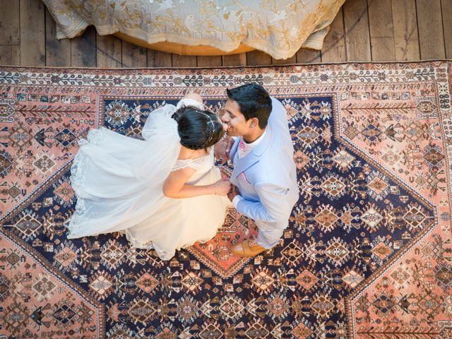 Le mariage de clara et amar