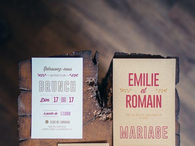 Le mariage de Romain et Emilie à Cons-la-Grandville, Meurthe-et-Moselle 4