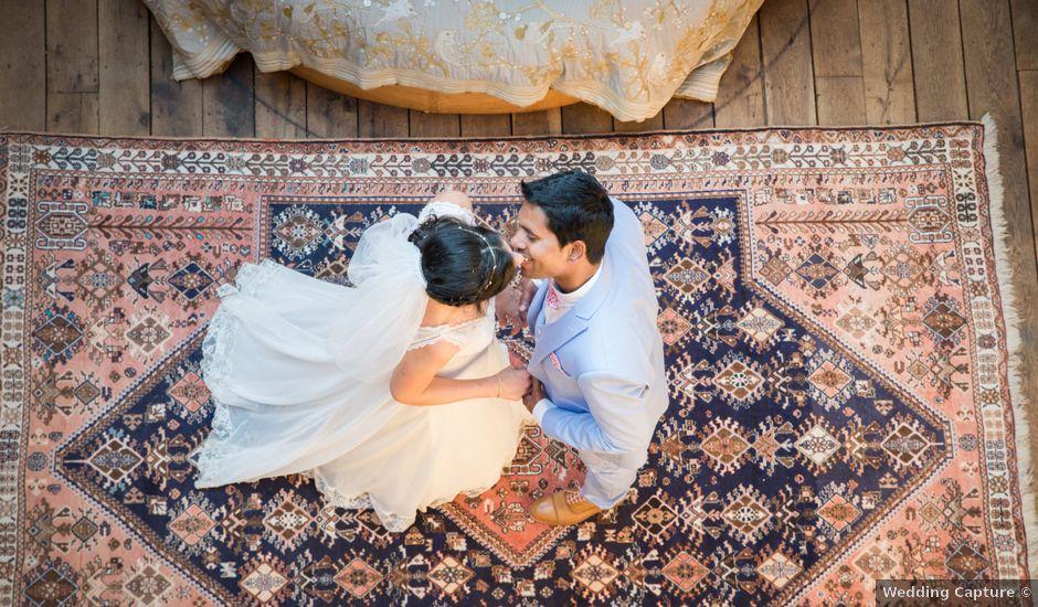 Le mariage de amar et clara à Vallery, Yonne