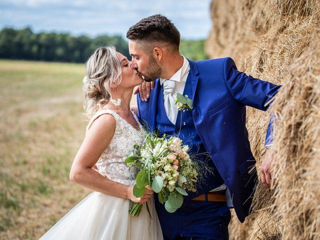 Le mariage de Jason et Justine à Montbazon, Indre-et-Loire 12