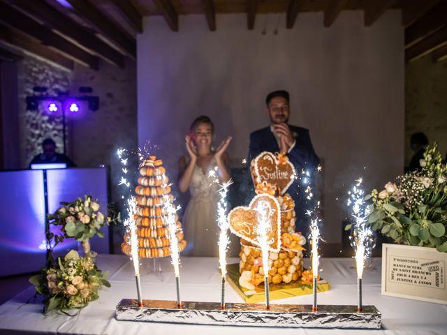Le mariage de Jason et Justine à Montbazon, Indre-et-Loire 149