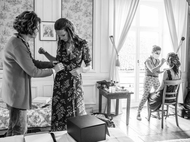 Le mariage de Simon et Alice à Saint-Lon-les-Mines, Landes 3