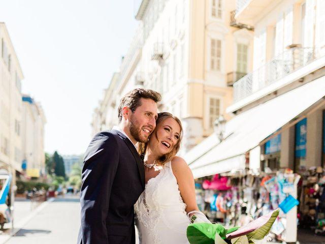 Le mariage de Yohann et Héléna à Nice, Alpes-Maritimes 16