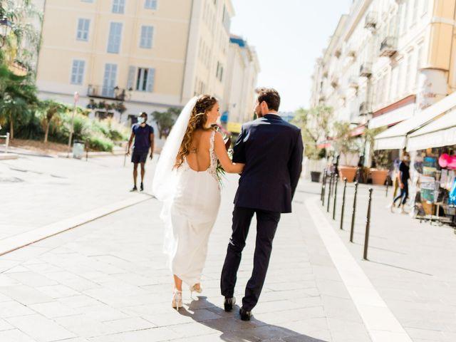 Le mariage de Yohann et Héléna à Nice, Alpes-Maritimes 17