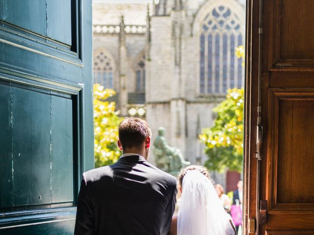 Le mariage de Julien et Charlène  à Quimper, Finistère 8