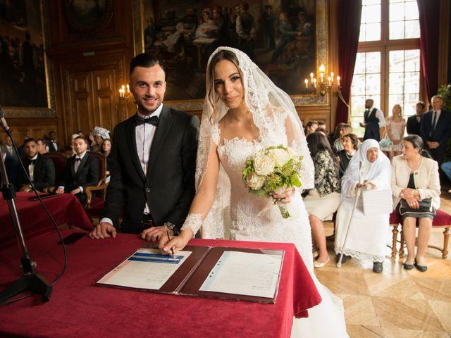 Le mariage de Martin et Nassima à Paray-Douaville, Yvelines 2