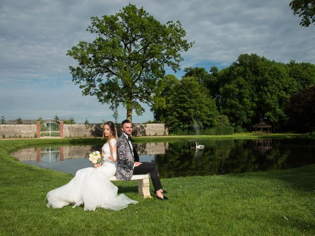 Le mariage de Martin et Nassima à Paray-Douaville, Yvelines 5
