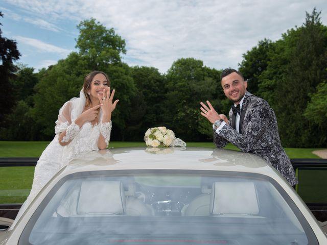 Le mariage de Martin et Nassima à Paray-Douaville, Yvelines 10