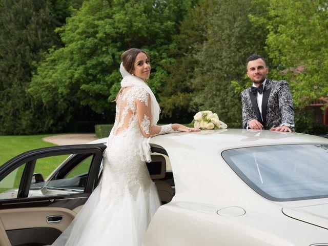 Le mariage de Martin et Nassima à Paray-Douaville, Yvelines 14