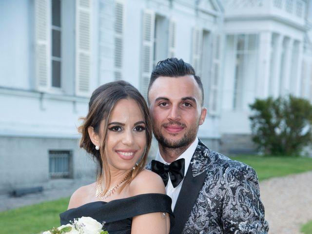 Le mariage de Martin et Nassima à Paray-Douaville, Yvelines 15