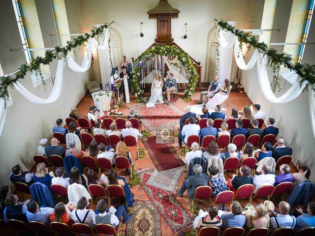 Le mariage de Marc et Jennifer à Husseren-Wesserling, Haut Rhin 15