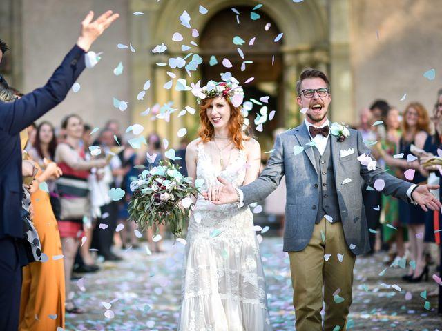 Le mariage de Marc et Jennifer à Husseren-Wesserling, Haut Rhin 25