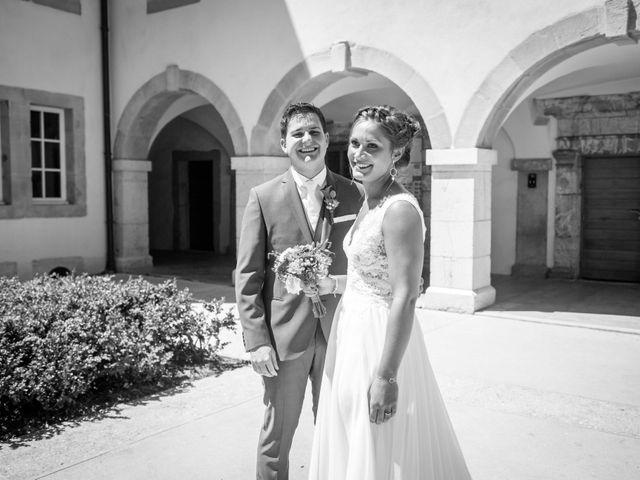 Le mariage de Hugues et Aurore à Présilly, Haute-Savoie 11
