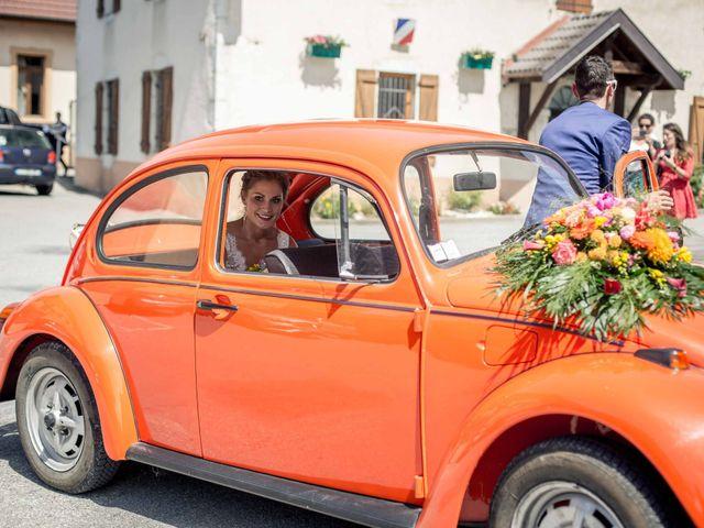 Le mariage de Hugues et Aurore à Présilly, Haute-Savoie 31