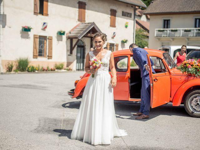 Le mariage de Hugues et Aurore à Présilly, Haute-Savoie 32